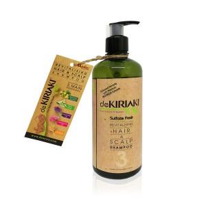 Dekiriaki Revitalising Hair & Scalp Shampoo 500ml