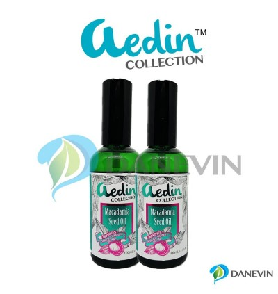 AEDIN Macadamia Seed Oil 100mL x 2